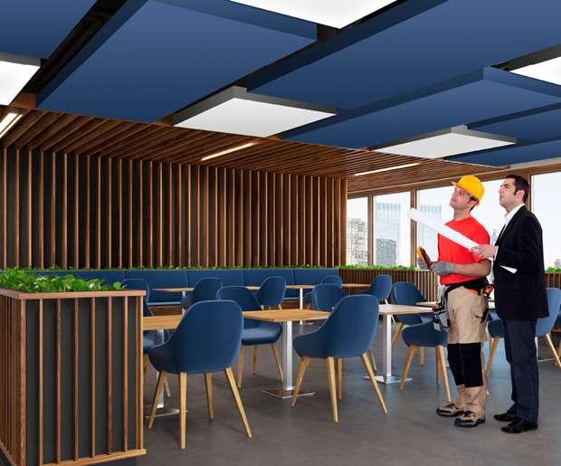 d0907d5cbc55 Plafond tendu et mur en toile tendue   CLIPSO, fabricant français