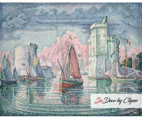 Clipso - RMN Grand Palais Entrée du port de la Rochelle 00-026592