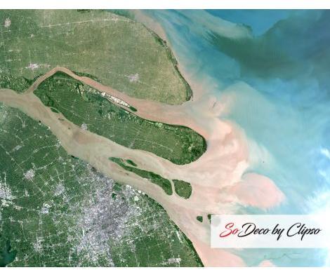 Clipso - PO Shanghai et le delta du Yang Tsé Kiang Chine 03 07 2001