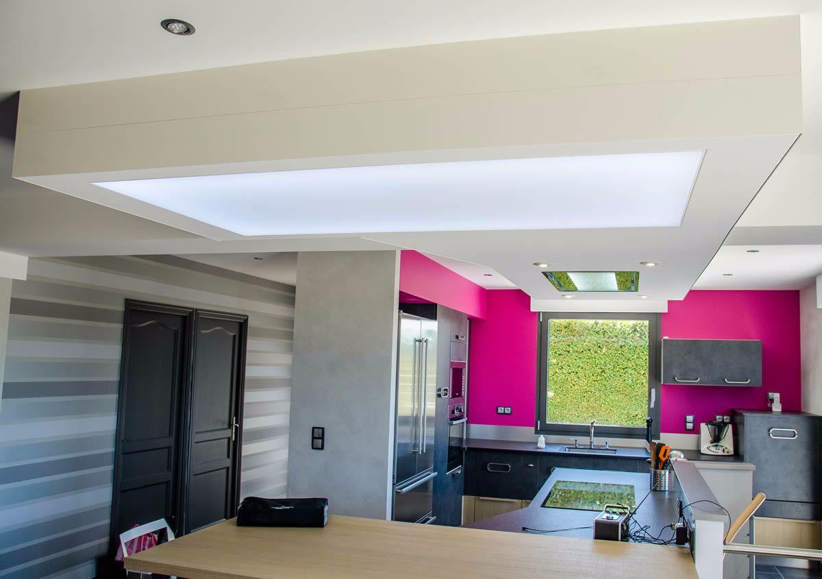 plafond de couleur clipso fabricant de murs et plafonds tendus. Black Bedroom Furniture Sets. Home Design Ideas