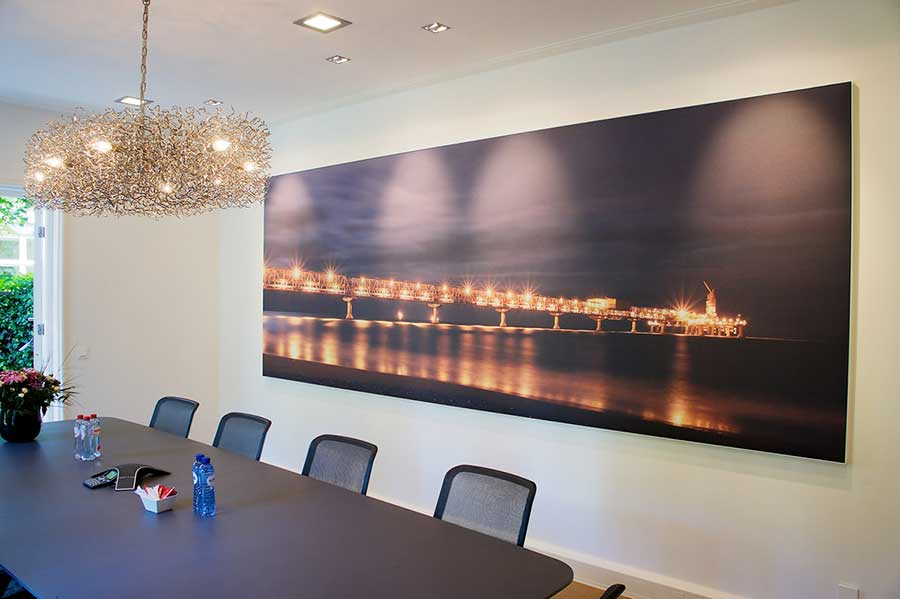 Backlit frame | CLIPSO, stretch walls and ceilings manufacturer