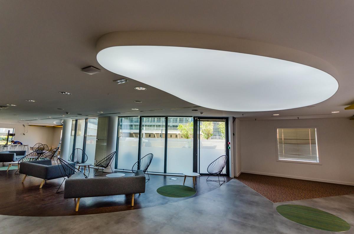 Plafond translucide clipso fabricant de murs et for Faux plafond translucide